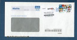 "BRD - Privatpost - Umschlag - Südmail / Arriva - Marke: Standartbrief / Prelabel ""Standart"" - Privatpost"