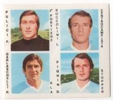 CALCIATORI CREMA ANNO 1977 / 78 - LAZIO (4 GIOCATORI) FIGURINA Numero 24 - Stickers