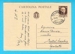 WW2 - Italy Occupation Of Montenegro ZELENICA , CATTARO To Kastel Vecchio - Occupazione Italiana Del Monteneg.* Zelenika - 9. Occupazione 2a Guerra (Italia)