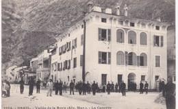 06 Alpes Maritimes -  BREIL - Vallée De La Roya - La Caserne - Ed. Giletta, Nice - Dos Simple - Breil-sur-Roya