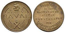 TALLERES SAN CARLOS. NAVAL. 1 Peseta. 1948. SC-. - Tokens & Medals