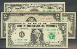 Conjunto De Diversos Billetes De Dólares USA, El Billete De 50 Dólares En Conservación EBC. A EXAMINAR. - Banknotes