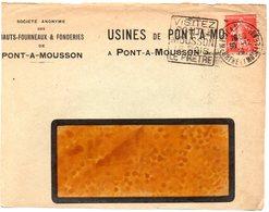 MEURTHE & MOSELLE - Dépt N° 54 = PONT-A-MOUSSON 1926 = FLAMME DAGUIN  ' BOIS PRETRE ' (caractères + Hauts Sur 5 Lignes) - Mechanical Postmarks (Other)