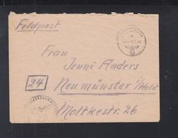 Dt. Reich Inselpost 59447 E Leros Griechenland Greece - Storia Postale
