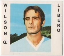 CALCIATORI CREMA ANNO 1977 / 78 - LAZIO (WILSON G.) FIGURINA Numero 154 - Stickers