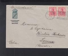 Dt. Reich Brief 1912 Charlottenburg Nach Griechenland - Briefe U. Dokumente