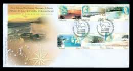 Malaysia 2002 Islands & Beaches FDC Lot51540 - Malaysia (1964-...)