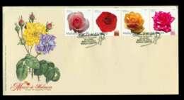 Malaysia 2003 Roses In Malaysia FDC Lot51543 - Malaysia (1964-...)