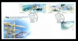 Malaysia 2004 Malaysian Ports Ships FDC Lot51556 - Malaysia (1964-...)