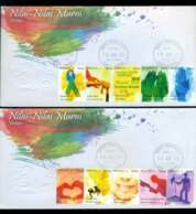 Malaysia 2011 Virtues 2x FDC Lot51549 - Malaysia (1964-...)