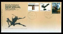 Malaysia 2011 Visual Arts Treasures FDC Lot51550 - Malaysia (1964-...)
