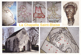 91 MILLY LA FORET / MULTIVUES DE LA CHAPELLE SAINT BLAISE / PORTRAIT DE JEAN COCTEAU - Milly La Foret