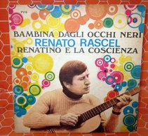 """RENATO RASCEL BAMBINA DAGLI OCCHI NERI COVER NO VINYL 45 GIRI - 7"""" - Accessori & Bustine"""