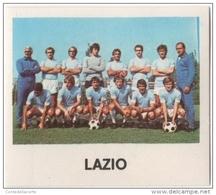 CALCIATORI CREMA ANNO 1977 / 78 - LAZIO (FORMAZIONE) FIGURINA Numero 23 - Stickers