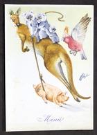 Collezionismo - Menu Navi LLOYD Triestino Mn. Australia - Pranzo 20 Luglio 1954 - Menus