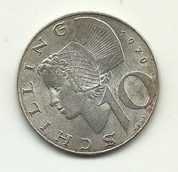 1970 - Austria 10 Schilling, - Austria