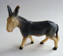 FIGURINE STARLUX  - ANIMAUX ANIMAL DE LA FERME - ANE Ivoirine Gris 547  (3) Pas Clairet - Figurines