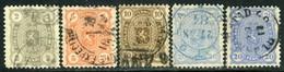 Finland. Sc #25-28a. Used. F-VF. - 1856-1917 Russische Verwaltung
