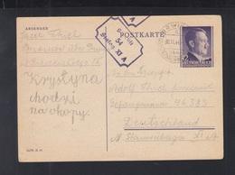 Dt. Reich Generalgouvernement GSK 1944 Brwinow An Kriegsgefangenen Stalag XI A - Besetzungen 1938-45