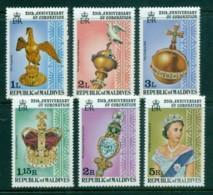 Maldive Is 1978 QEII Coronation, 25th Anniversary , Royalty MUH - Maldives (1965-...)