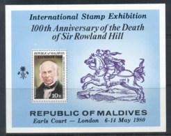 Maldive Is 1979 Rowland Hill MS MUH - Maldives (1965-...)