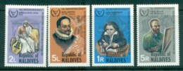 Maldive Is 1981 Intl. Year Of The Disabled MLH Lot79928 - Maldives (1965-...)