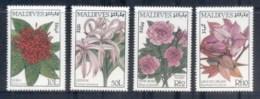 Maldive Is 1987 Flowers (4/6) MUH - Maldives (1965-...)
