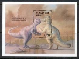 Maldive Is 1992 Dinosaurs, Iguanadon MS MUH - Maldives (1965-...)