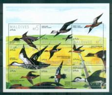 Maldive Is 1995 Birds, Waterbirds MS MUH - Maldives (1965-...)