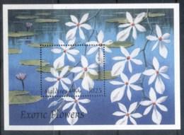 Maldive Is 1997 Flowers MS MUH - Maldives (1965-...)
