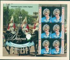 Maldive Is 1998 Princess Diana In Memoriam, Saying Farewell MS MUH - Maldives (1965-...)