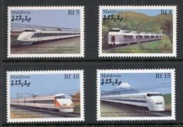 Maldive Is 2000 Trains MUH - Maldives (1965-...)