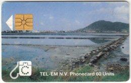 SINT MAARTEN A-031 Chip Tel-EM - Landscape, Coast - Used - Antilles (Netherlands)