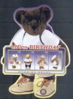 Maldive Is 2002 100th Birthday Of The Teddy Bear MS MUH - Maldives (1965-...)
