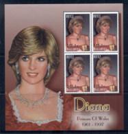 Maldive Is 2002 Princess Diana In Memoriam MS MUH - Maldives (1965-...)