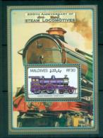 Maldive Is 2004 Railways MS MUH Lot66619 - Maldives (1965-...)
