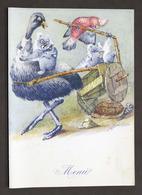 Collezionismo Menu Navi LLOYD Triestino Mn. Australia - Pranzo 30 Maggio 1954 - Menus