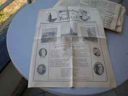 Stockholms Festblad Nr1 1923 - Libros, Revistas, Cómics