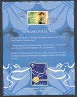 Maldive Is 2010 Boy Scouts 100 Years. MS MUH - Maldives (1965-...)
