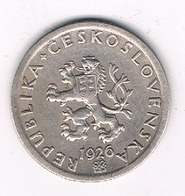 20 HALLER 1926 TSJECHOSLOWAKIJE /5978// - Czechoslovakia