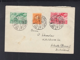 Hungary Cover 1936 Budapest To Hannover - Ungarn