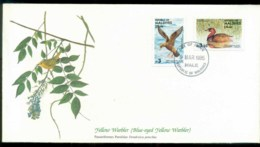Maldives 1985 Audubon Birds,  Franlkin Mint FDC Lot79651 - Maldives (1965-...)