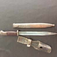 Baïonnette Allemande Mauser 84/98 - Knives/Swords