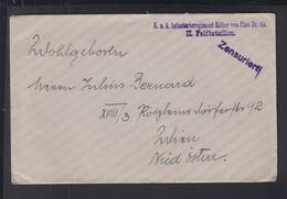 KuK Feldpost Ritter Von Pino Feldpost 36 Zensur - Briefe U. Dokumente