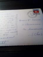 Beau Cachet Sur Cp  1965  JAVERLHAC  Dordogne - Marcophilie (Lettres)