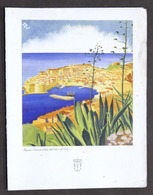 Collezionismo - Menu Navi LLOYD Triestino Mn. Africa - Colazione 16 Agosto 1952 - Menus