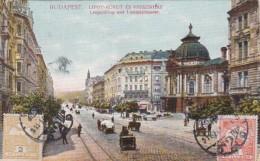 3732126Budapest, Leopoldring Und Lustspieltheater 1911 (sehe Rechts Unten) - Hongarije