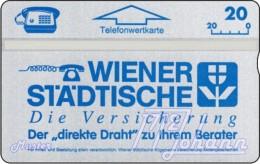 TWK Österreich Privat: 'Wr. Städtische - Blau' Gebr. - Austria
