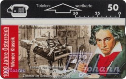 TWK Österreich Privat: '1000 J. Österreich - Beethoven' Gebr. - Austria