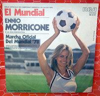 "ENNIO MORRICONE EL MUNDIAL COVER NO VINYL 45 GIRI - 7"" - Accessori & Bustine"